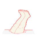 脇が甘いスタンプ(個別スタンプ:11)