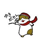 冬のモルモットさん(個別スタンプ:05)