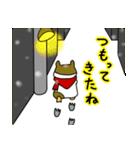 冬のモルモットさん(個別スタンプ:07)