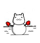 冬のモルモットさん(個別スタンプ:35)