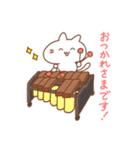 ふじねこ*打楽器(個別スタンプ:03)