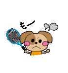 仲良しテニス犬(個別スタンプ:07)