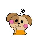 仲良しテニス犬(個別スタンプ:18)