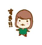 ふわふわがーる vol.01(個別スタンプ:06)
