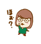 ふわふわがーる vol.01(個別スタンプ:13)