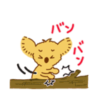 コアラのココ基本編(個別スタンプ:36)