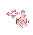 ♡うさぎの日常使いスタンプ♡(個別スタンプ:14)