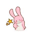 ♡うさぎの日常使いスタンプ♡(個別スタンプ:19)