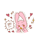 ♡うさぎの日常使いスタンプ♡(個別スタンプ:22)