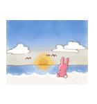 ♡うさぎの日常使いスタンプ♡(個別スタンプ:26)