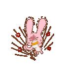 ♡うさぎの日常使いスタンプ♡(個別スタンプ:31)