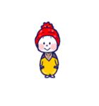 ぼうし坊っちゃん 1(個別スタンプ:01)