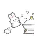 白いこうさぎスタンプ 2(個別スタンプ:39)