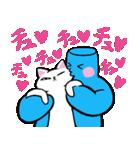 マシュマロちゃんとマシュマロフレンズ2☆(個別スタンプ:02)