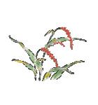 四季の草花(陶芸家描き下ろしシリーズ)(個別スタンプ:06)