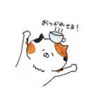 ミケ猫のムー(個別スタンプ:04)