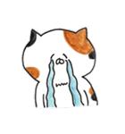 ミケ猫のムー(個別スタンプ:14)