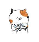 ミケ猫のムー(個別スタンプ:16)