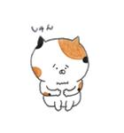 ミケ猫のムー(個別スタンプ:23)