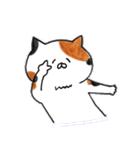 ミケ猫のムー(個別スタンプ:27)