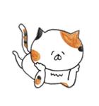 ミケ猫のムー(個別スタンプ:31)
