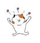 ミケ猫のムー(個別スタンプ:35)