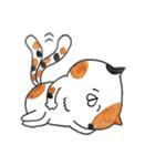 ミケ猫のムー(個別スタンプ:40)