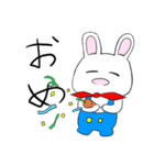 おーばーおーるうさぎ!(個別スタンプ:03)