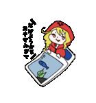 赤パーカーのろみちゃん(個別スタンプ:05)