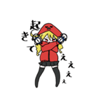 赤パーカーのろみちゃん(個別スタンプ:06)