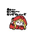 赤パーカーのろみちゃん(個別スタンプ:08)