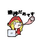 赤パーカーのろみちゃん(個別スタンプ:09)