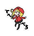 赤パーカーのろみちゃん(個別スタンプ:14)