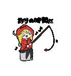 赤パーカーのろみちゃん(個別スタンプ:16)