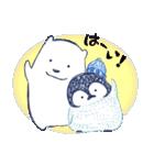 ペンちゃんとシロクマさん(個別スタンプ:01)