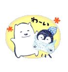 ペンちゃんとシロクマさん(個別スタンプ:09)