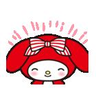 マイメロディ 赤ずきんデザイン♪(個別スタンプ:3)