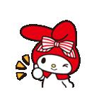 マイメロディ 赤ずきんデザイン♪(個別スタンプ:6)