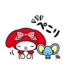 マイメロディ 赤ずきんデザイン♪(個別スタンプ:14)