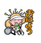 テニスのネエさん(個別スタンプ:01)
