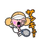 テニスのネエさん(個別スタンプ:11)