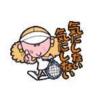 テニスのネエさん(個別スタンプ:24)