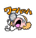テニスのネエさん(個別スタンプ:30)