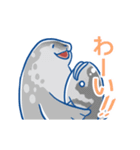 ジワるペンギン-動く-(個別スタンプ:02)