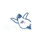 ジワるペンギン-動く-(個別スタンプ:14)