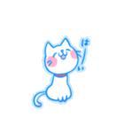 yuraの癒し系しろねこスタンプ(個別スタンプ:09)