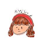 ベレー帽のツッキーさん(個別スタンプ:04)