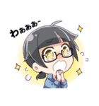 ジュンちゃんファミリー(個別スタンプ:03)