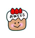 日常会話スタンプ☆シンプル記号(個別スタンプ:24)