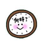 日常会話スタンプ☆シンプル記号(個別スタンプ:27)